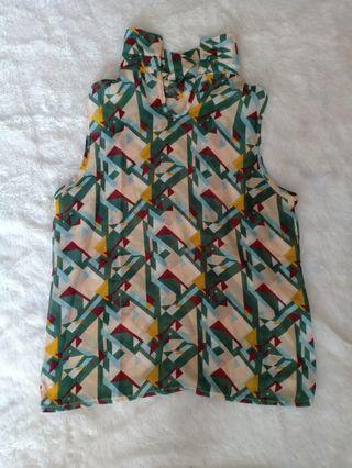 Chiffon blouse kutung