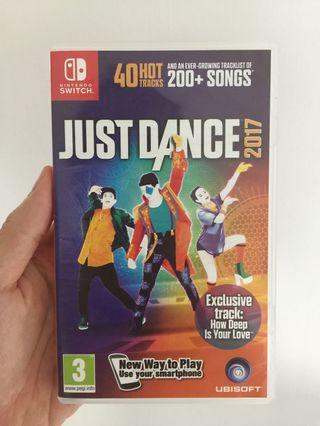 Nintendo Switch Just Dance 2017 Game