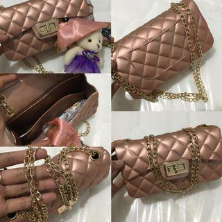 Tas Jelly Mate Rosegold