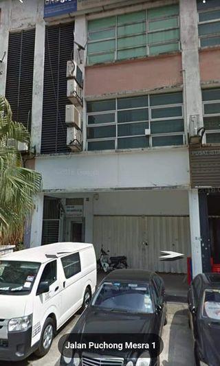 3 storey units shop jalan puchong Meara 1