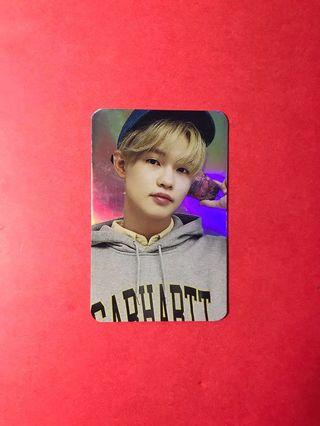 NCT 2018 Empathy Hologram Photocard Chenle