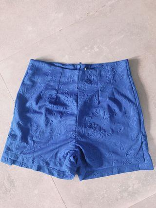 🚚 High Waisted Shorts Blue