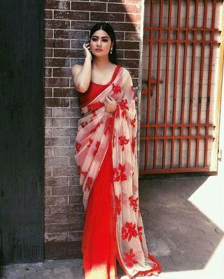 Saree fancy/reduced