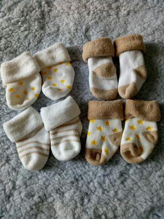 (4 pasang) Kaos Kaki Baby