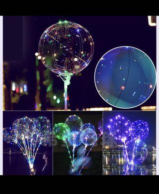 Instock! Bobo Transparent Balloon Multi colour