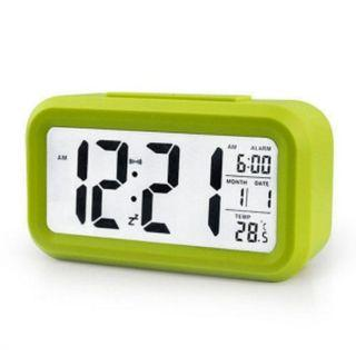 Alarm Clock Lime Green