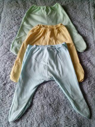 (6 pcs) Celana Panjang bayi
