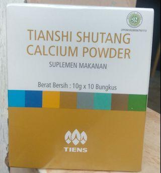Shutang powder calcium untuk diabetes