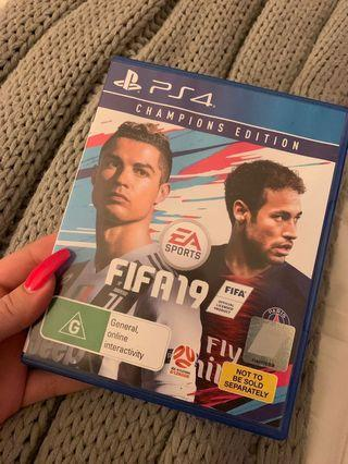 Fifa19 ps4 game latest
