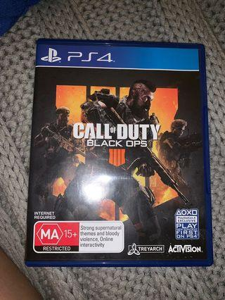 COD black ops 4 PS4 latest version