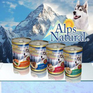 [Bundle of 6] Alps Natural Pureness Dog Canned Food 400g