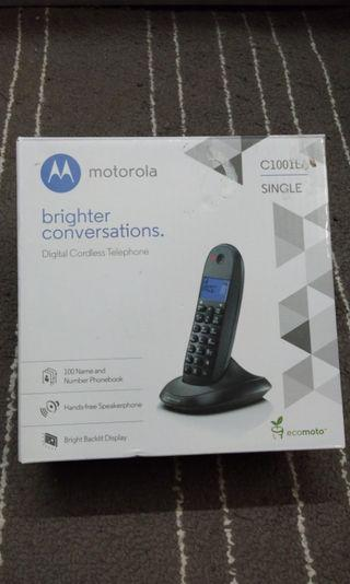 Motorola Cordless Phone C1001LA Single