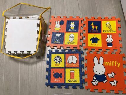 Miffy 軟pad放地上玩