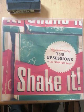 The upsessions/Lee Perry - shake it LP