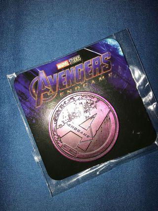 🚚 Avengers coin (LTM ED) purple