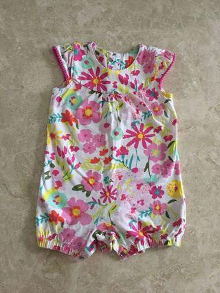 PL 6-9M Mothercare Baby Girl Romper