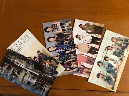 嵐 Arashi fanclub 月刊 $40五本