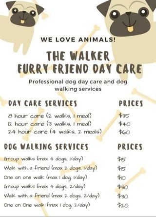 The Walker Dog Care Services