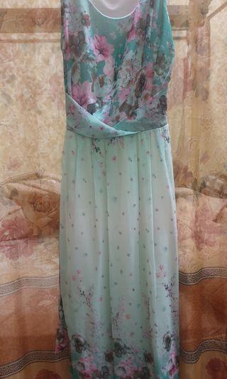 Preloved - Dress Bunga