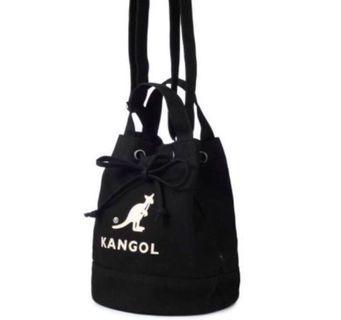 Kangol 水桶包 黑 現貨6個