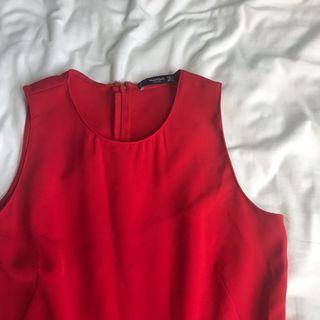 🚚 Mango Basics Red Dress