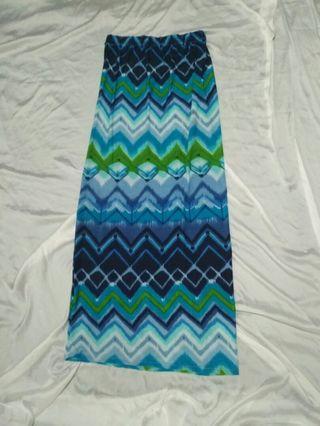Long Skirt span