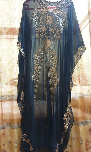 Preloved - Baju Gamis Model Kelelawar