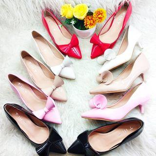 MINI RIBBON HEELS