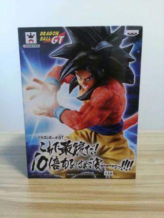 日版全新 龍珠GT 必殺技系列 最後的10倍龜波氣功 超級撒亞人4 孫悟空 Dragoball GT Super Saiyan 4 Son Goku