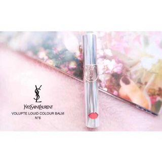 YSL | Volupte Liquid Colour Balm N°6 銀管唇釉6號