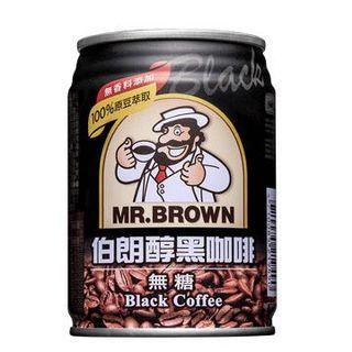 🚚 伯朗醇黑咖啡240mlx24罐一箱