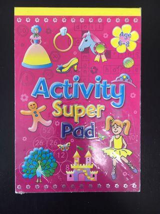 Activity super pad