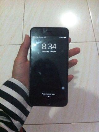 Iphone 6 plus 16gb grey tinggal pakai