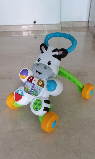 🚚 Fisher-Price® Learn with Me Zebra Walker