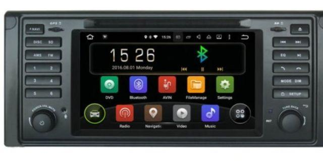 BMW E 39 android player