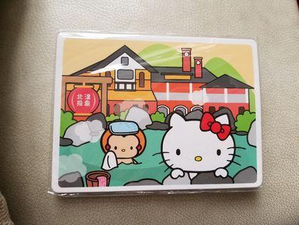 台灣Hello Kitty 北投温泉明信咭