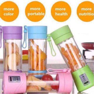 Rechargeable electric fruit juicer portable