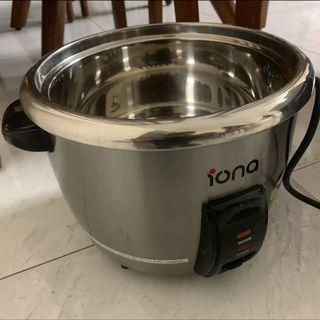 🚚 Iona 1.8l rice cooker