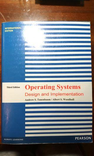 Operating Systems Design and Implementation OS