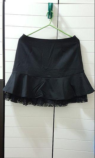 Zara Black Skirt