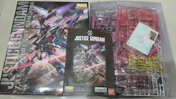 高達模型 MG Justice Gundam ZGMF-X09A