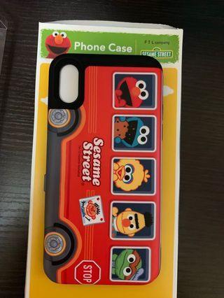芝麻街 i phone X/XS  case