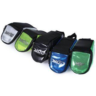 PVC OUTDOOR PORTABLE ANTISKID REAR TAILLIGHTS BAG PACKAGE FOR BICYCLE (BLACK)