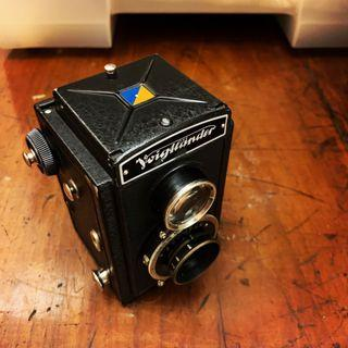 Voigtlander Brillant Skopar 75mm f4.5 德國製 古典菲林相機