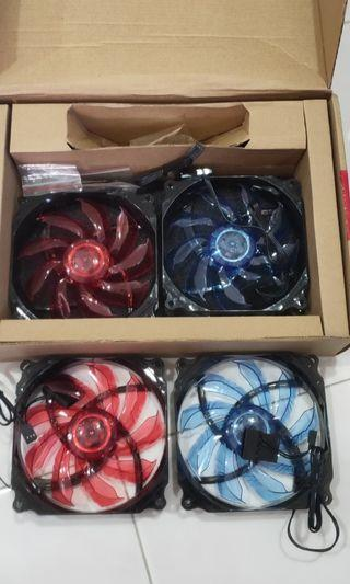 """🚚 4 6""""CPU fan with lights"""