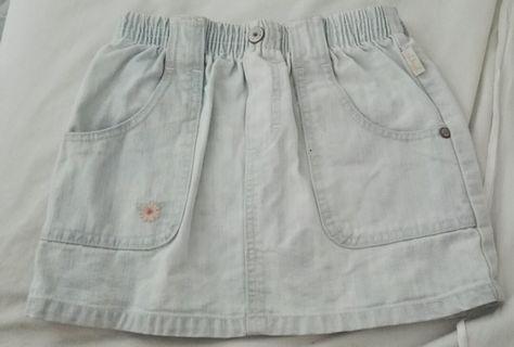 OshKosh B'gosh Girls Faded Denim Skirt