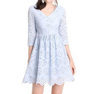 🚚 Lilypirates Summer Holiday Dress In Periwinkle - M