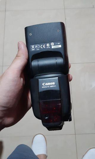 Speedlite Canon 580 EXII