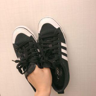 Adidas nizza黑色#帆布鞋