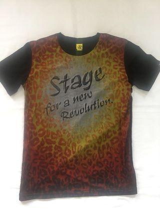 STAGE Hyaline of World T Shirt Size M Authentic <SALE>